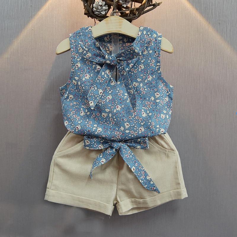 Лидер продаж 2018 года; Модная летняя одежда с принтом для девочек; Детская футболка; Брюки; Детский костюм; Одежда для маленьких девочек; Однотонная одежда.