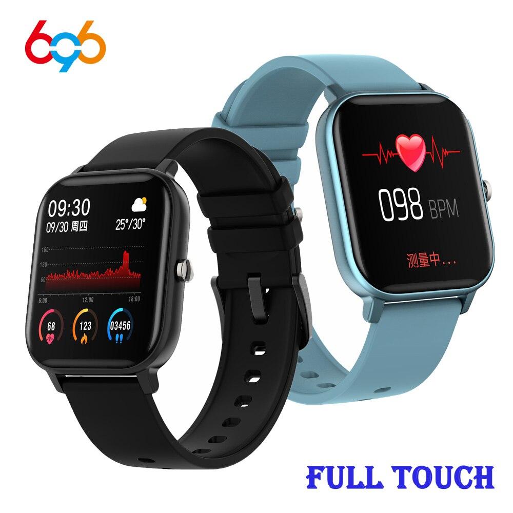 P8 Fitness Tracker P8 Smart Watch Men Women Bracelet 1.4 inch Full Touch SmartWatch Heart Rate Monitor Sport Watch PK B57 Band