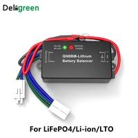 QNBBM 1S Active Battery Balancer for 3.7V Li-ion Li-NCM 3.2V Lifepo4 For Solar System EV RV With LED
