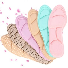 5D Sponge Pad Arch Bow Casual Sports Shoes Insoles Arch Support Orthopedic Pads Massage Pads Feet Ca