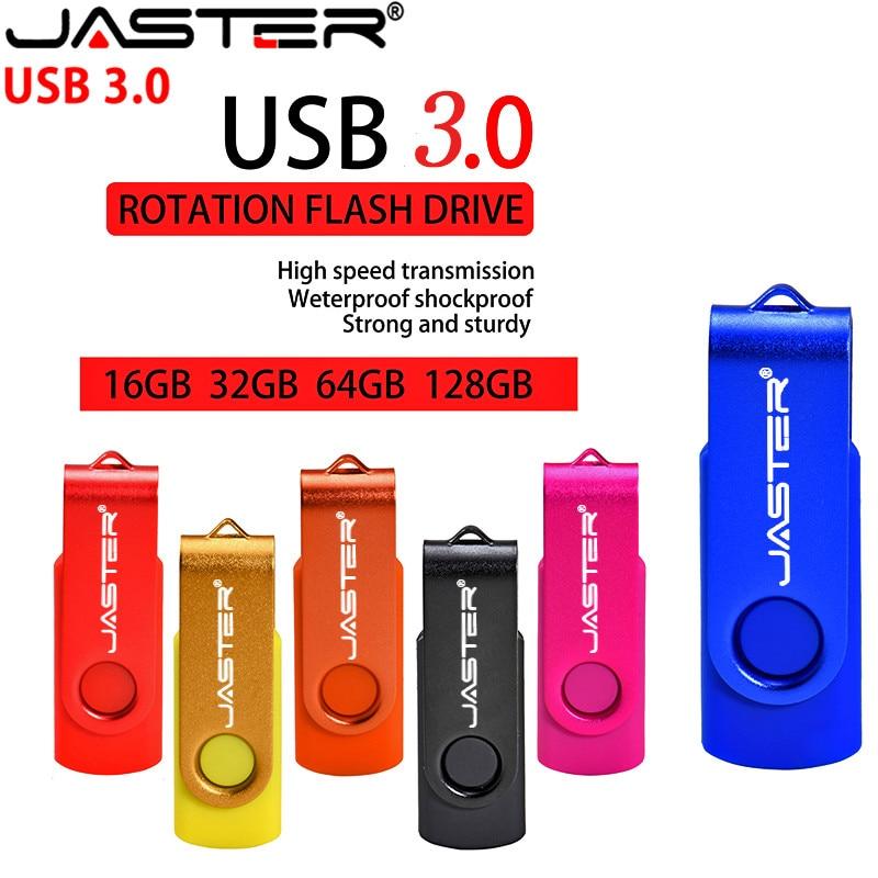 JASTER-unidad Flash USB de alta velocidad, unidad Flash Usb de rotación de...