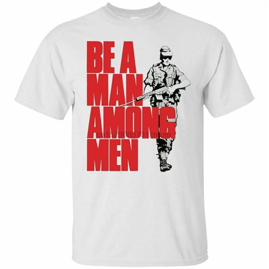 Camiseta Rhodesian Army-Be A Man Among Men - Rhodesia All Size Ready Men, camiseta, ropa