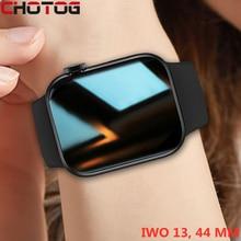 CHOTOG Original IWO Smart Watch Men Split Screen BT Call Smartwatch Women Watch Heart Rate Monitor 44MM Sport Clock PK HW22 W46