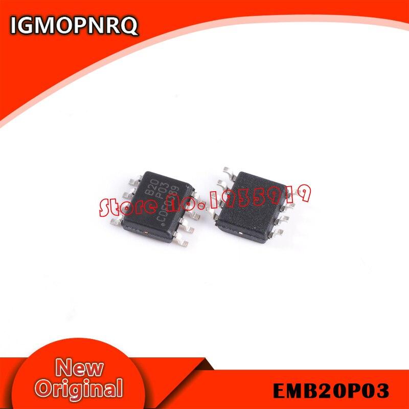 5piece EMB20P03G EMB20P03 B20P03 MOSFET SOP-8 new original