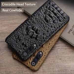 Phone Case For Xiaomi Mi 9 8 se 9T A1 A2 A3 lite Poco F1 Crocodile Head texture Case For Redmi 6 6a 7a Note 4 4x 5 6 7 8 Pro