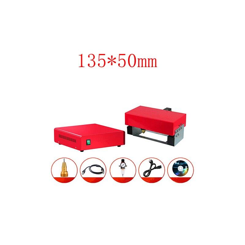آلة وسم السطح المعدنية المحمولة ، رمز VIN (135*50 مللي متر) ، للإطار ، رقم الهيكل 220 فولت/110 فولت