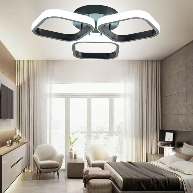 بسيطة Led أضواء السقف للمنزل مدخل شرفة غرفة المعيشة غرفة نوم مصابيح داخلية Plafond الإضاءة الإنارة بريق AC85-260V