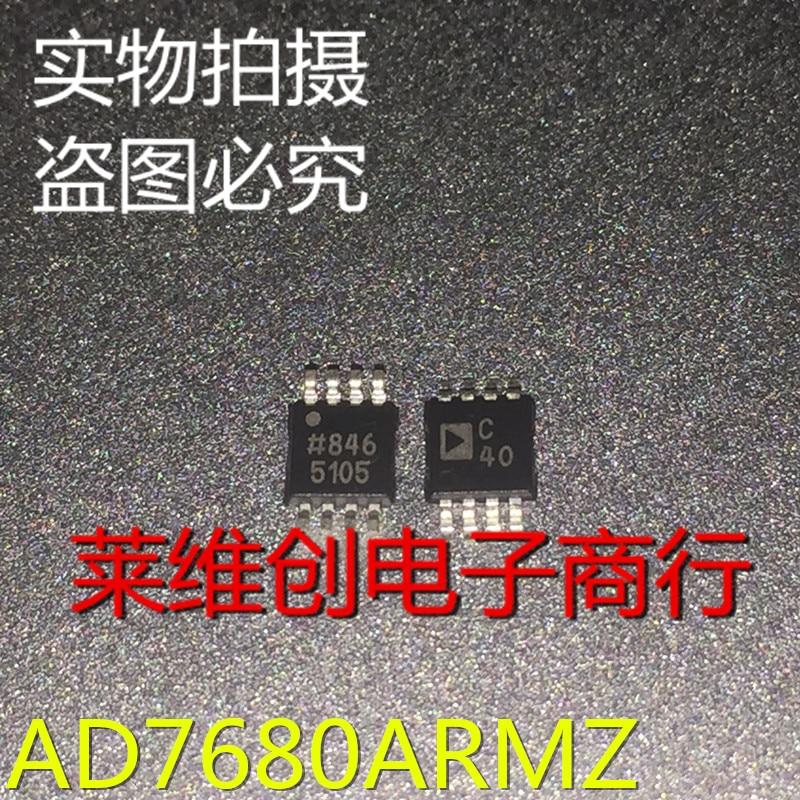 100% novo & original AD7680ARMZ AD7680 MSOP-8