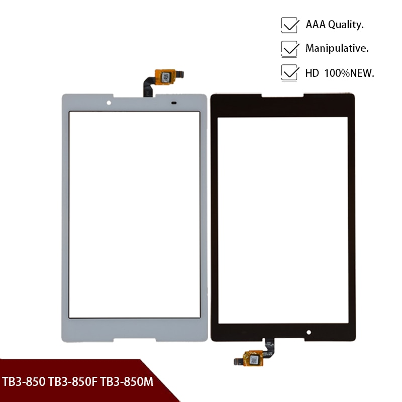 Touch Screen For Lenovo Tab3 8 Tab 3 8 850 TB3-850 TB3-850F TB3-850M Touchscreen Panel LCD Display Sensor Front Glass Lens Parts
