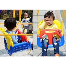 IPiggy 3 en 1 multifonctionnel enfants balançoire maternelle aire de jeux famille espace bébé balançoire pour enfants intérieur extérieur jouet