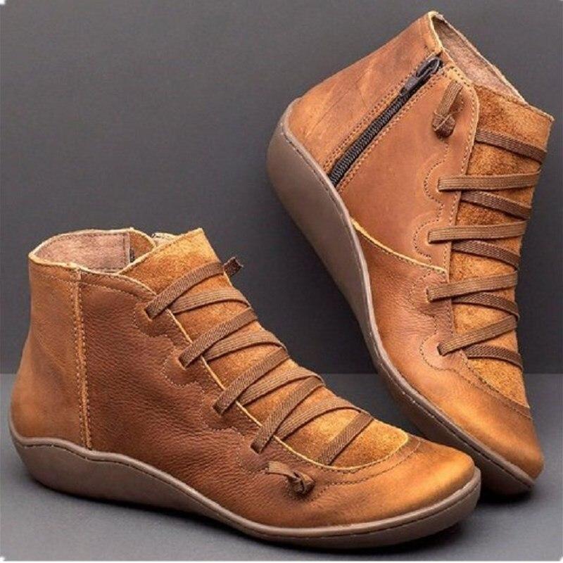 Zapatillas de deporte para mujer, zapatos informales de moda para invierno, zapatos planos transpirables cómodos para mujer, zapatos de plataforma para mujer