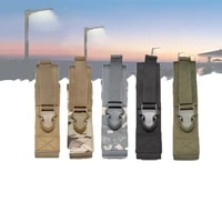 outdoor tactical mp5 molle pouch baton holder pouch for fits expandable batons and flashlights