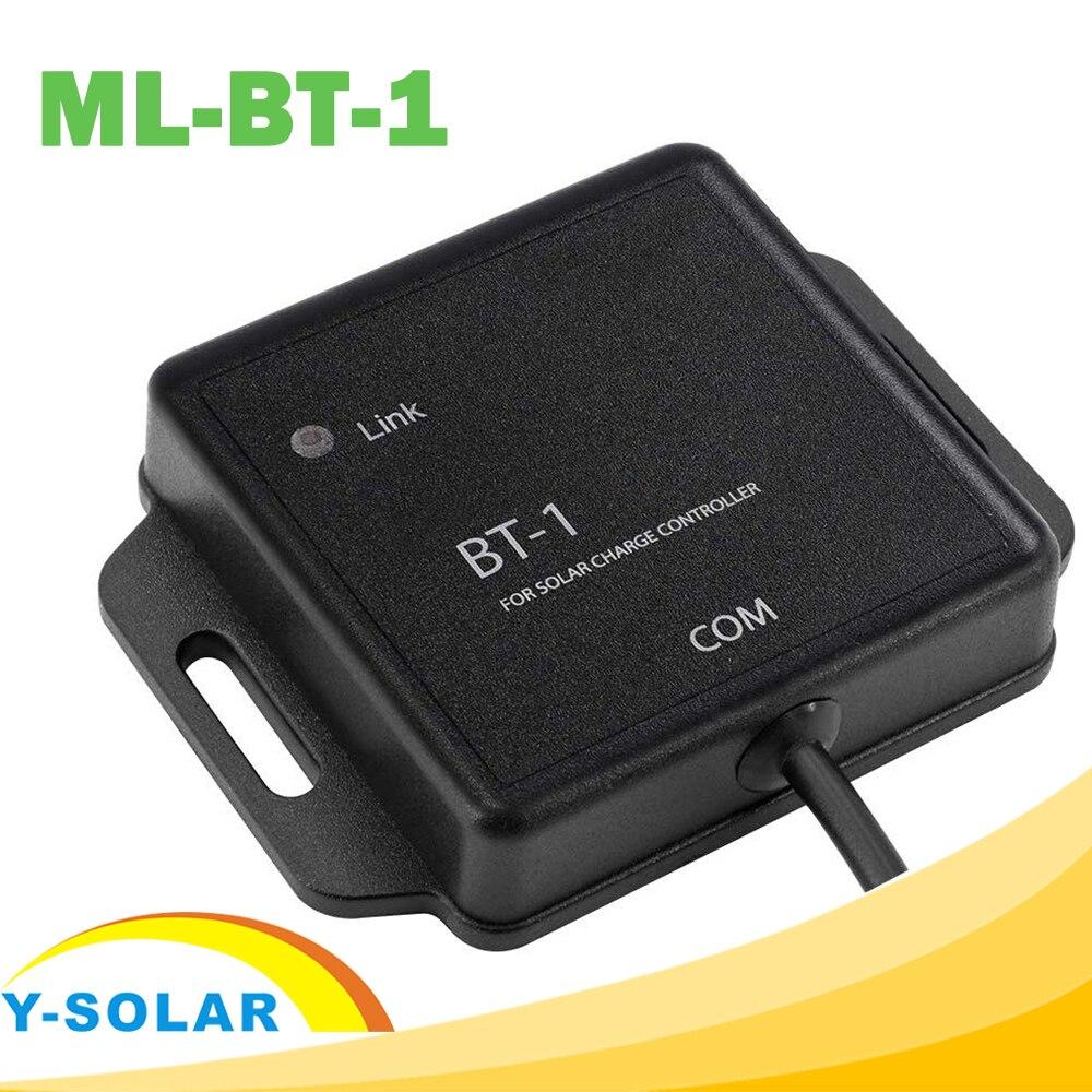 BT-1 بلوتوث متوافق مقاوم للماء MPPT جهاز تحكم يعمل بالطاقة الشمسية اللاسلكية رصد لنظام الطاقة الشمسية الكهروضوئية ML2420 ML2430 ML2440 ML4860