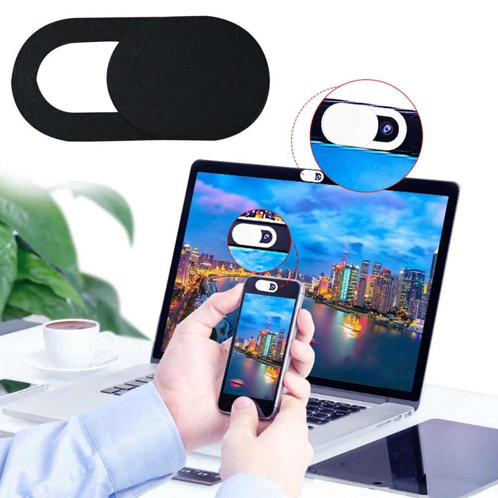 Cubierta Ultra delgada de la cámara web del teléfono móvil Anti-Peeping Full-Direction Lens cubierta de la Cámara Durable PC Laptop Cámara cubierta