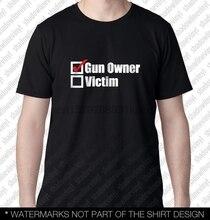GUN OWNER T-Shirt Funny Molon Labe Gadsden Hunter 9mm NRA 2A Pro Gun Rights AR15