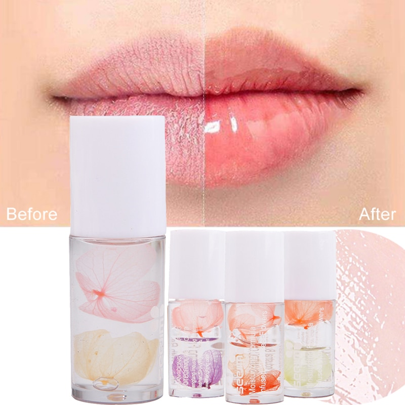 lip oil prevents dryness Nutritious moisturizing colorless long-lasting moisturizing diminishing lip lines repairing lip balm недорого