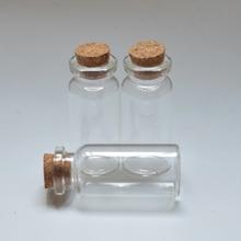 10 ml bouteille transparente bouteilles claires avec bouchons bouchon bouteilles en verre ma bouteille pour artisanat décoration pour la maison bricolage 50pcs