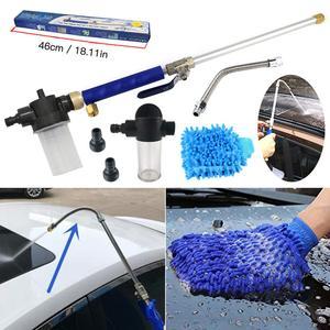 2020 High Pressure Washer Car Washing Water Gun Hydro Jet Power Water Nozzle Garden Sprayer Attachment Watering Sprinkler Set