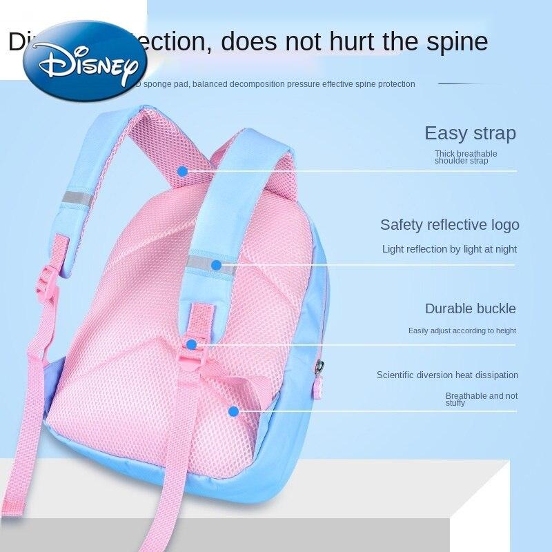 Disney Aisha Princess Schoolbag Frozen Cute Girl Multifunctional Backpack Fashion Cartoon Image Children's Gift