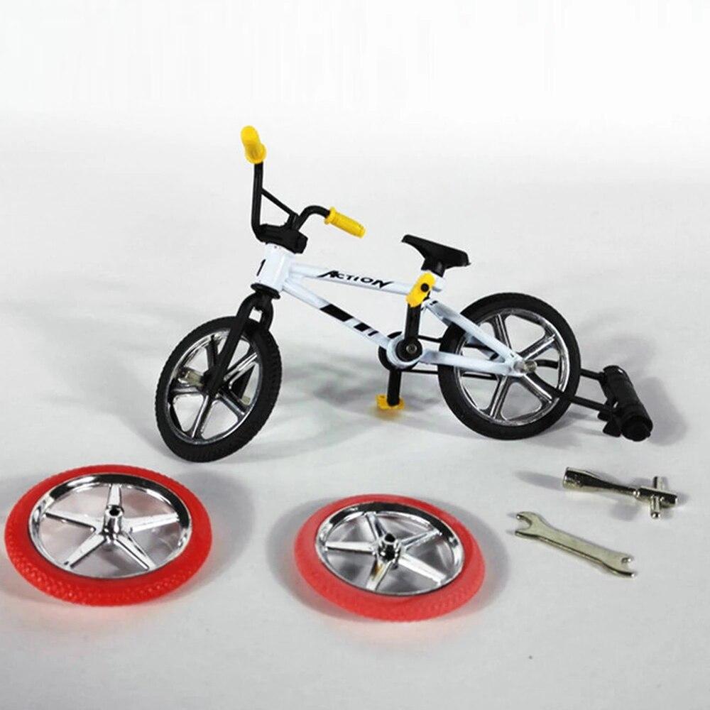 Мини-велосипед Пальчиковый велосипед игрушки отличное качество сплав Пальчиковый велосипед набор функциональные детские подарки фанаты в...
