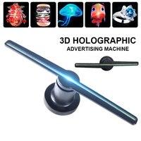 3D Wifi Hologram Projector Light Advert Display LED Holographic Imaging Lamp remote LED 3d Display Advertising logo Light