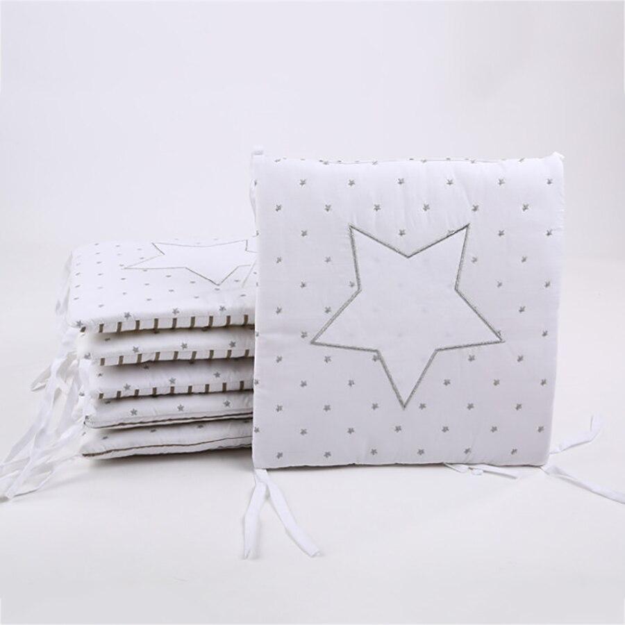Фото - Детская кровать, мягкая детская кровать с бампером, кровать для детской комнаты, звезды, дизайн декора, детская кроватка, подушки, детская по... кровать детская jimmy royal