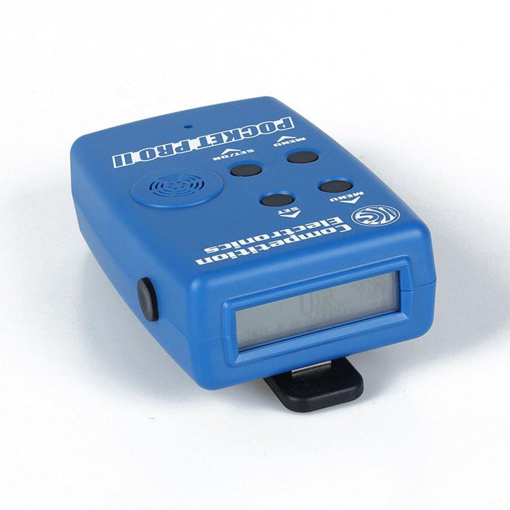 Pocket Pro II-مؤقت حريق إلكتروني للمنافسة ، مع جهاز استشعار ، وجرس ، ومؤقت للتدريب على الرماية ، مقاس السرعة