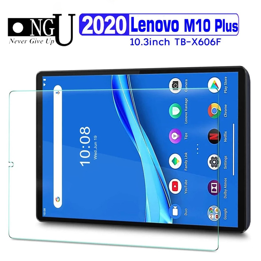 Screen Protector For Lenovo Tab M10 Plus 2020 TB-X606F 10.3 inch Tablet Tempered Glass Film for Lenovo M10 FHD Plus 2nd Gen X606
