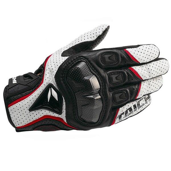 Guantes para Moto de carreras RST390 391, transpirables, de cuero, para Motocross, para ciclismo, motocicleta, guantes para moto
