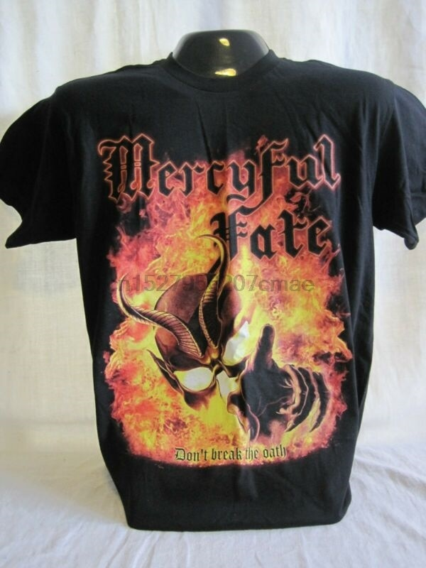Футболка Mercyful Fate, футболка, тяжелый металл, король, алмаз, рок-группа, музыка, новинка 1000