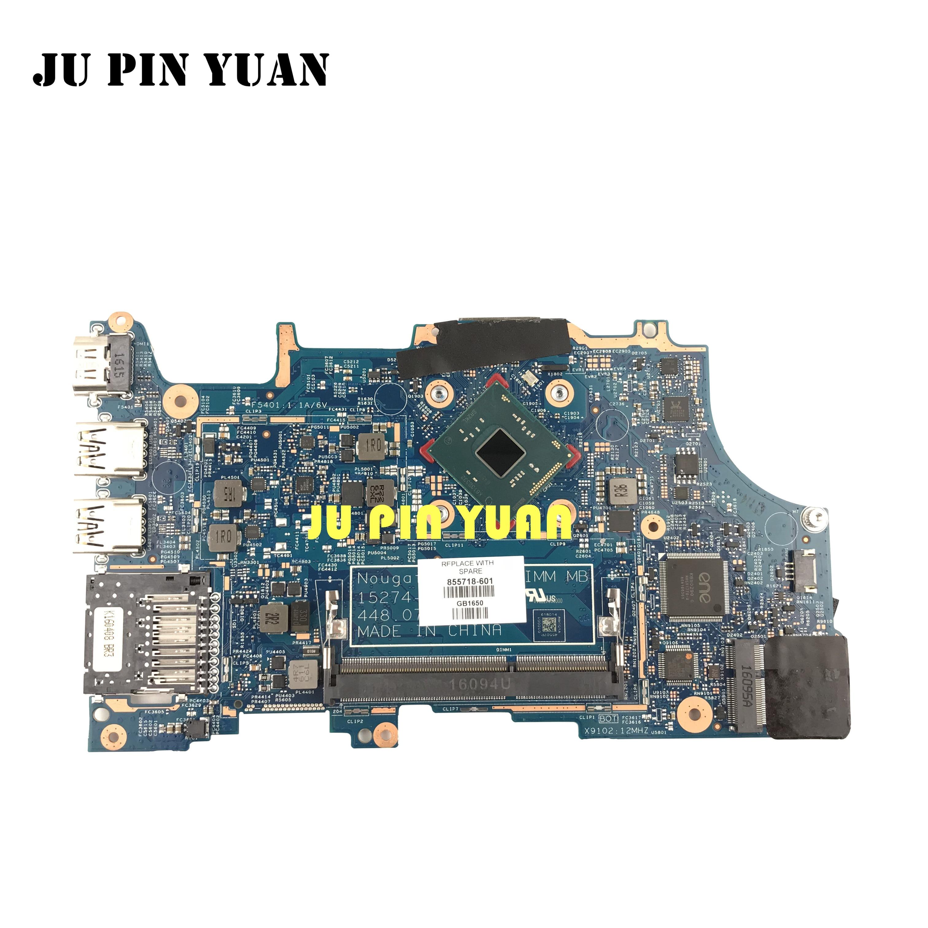 لوحة أم للكمبيوتر المحمول 855718-601 855718-501 448.07P09.0011 متوافقة مع HP بافيليون X360 11-U 11-U018CA تم اختبارها بالكامل