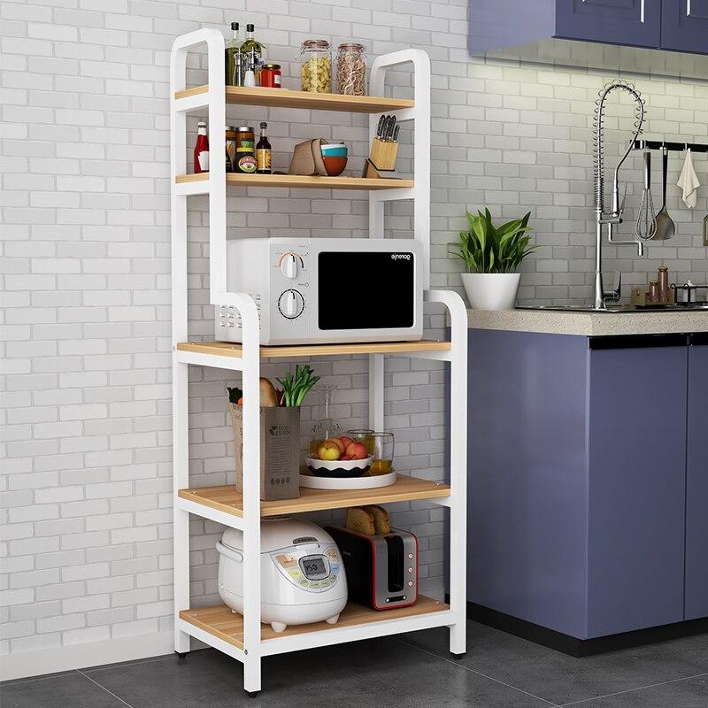 Kitchen shelf, household cabinet, kitchen shelf, microwave oven cabinet, artifact shelf, multi-storey cabinet