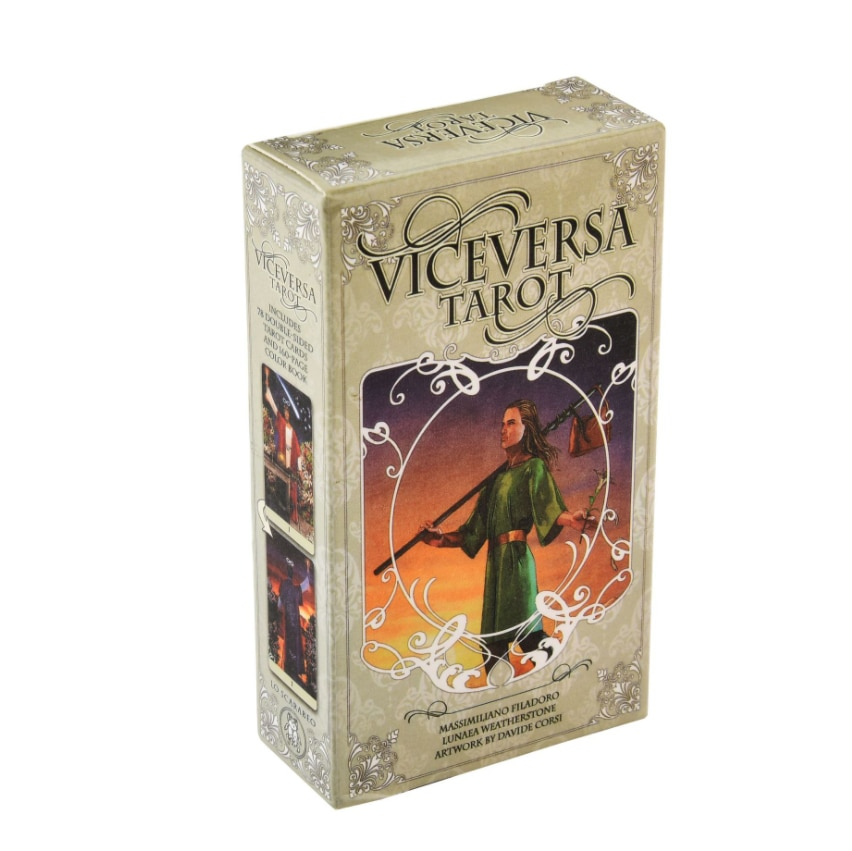 Viceversa Oracle Tarot Cards Altar Divination Tarot Oracle Cards For Card Board Game Accessories kipper fortune telling deck altar divination tarot oracle cards for card board game accessories
