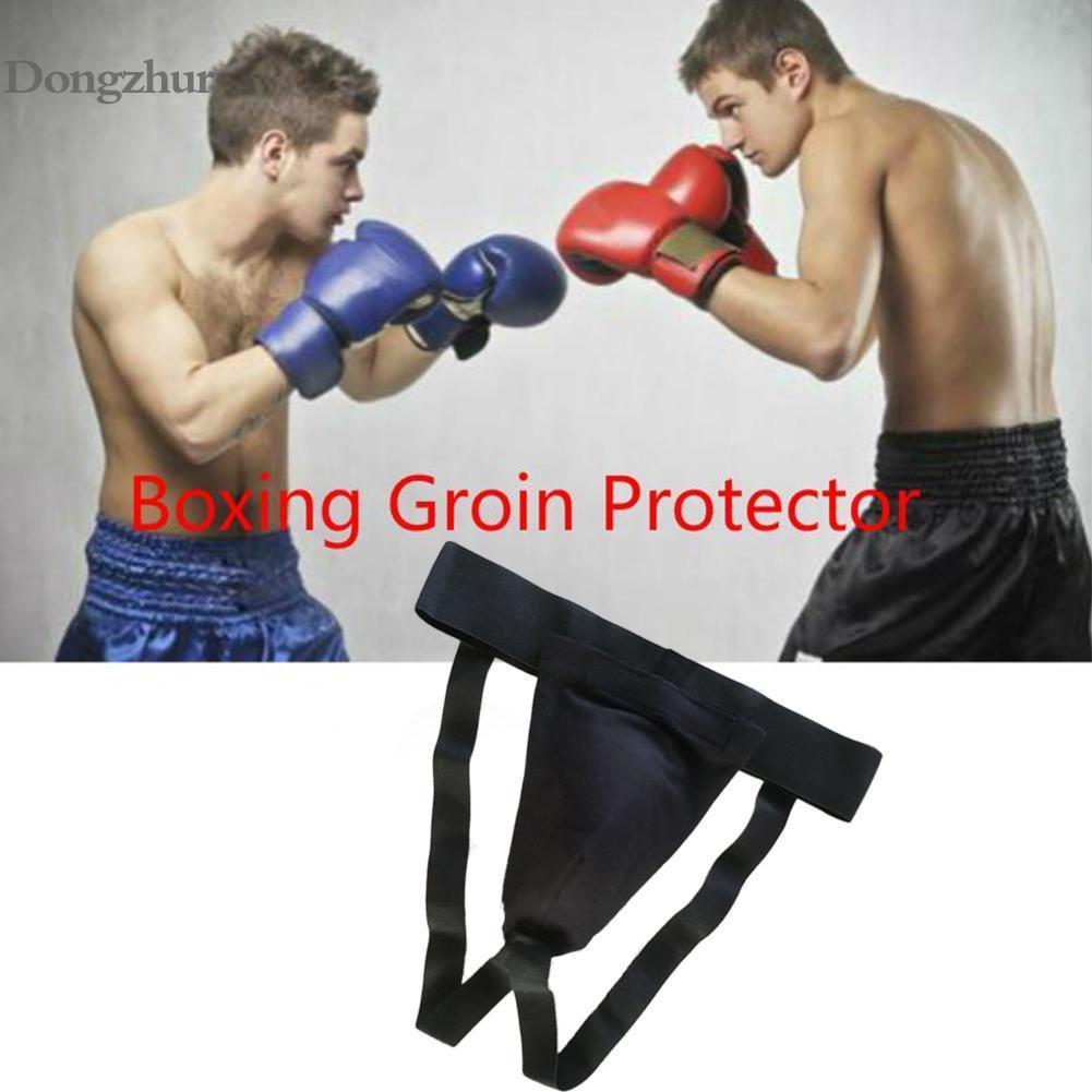 Hombre adulto Sanda entrepierna guardia Protector con Gel taza Taekwondo MMA Protector de ingle boxeo protección guardia hombres suspensorio
