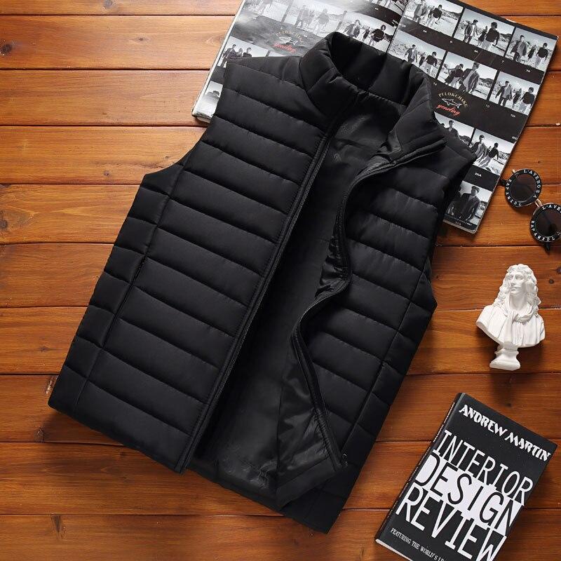 رجل سترة سترة الرجال جديد الخريف الدافئة أكمام جاكيتات الذكور الشتاء صدرية غير رسمية سترة حجم كبير Veste أوم ماركة الملابس