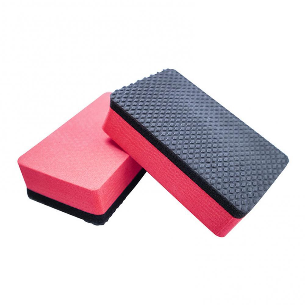 2Pcs Car Vehicle Magic Clay Bar Pad Block Cleaning Eraser Polish Washer Tools Car Wash Maintenance