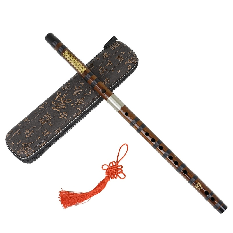 Bamboo Flute Professional Woodwind Flutes Musical instruments C D E F G Key Chinese dizi Transversal enlarge