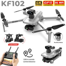 New Camera Drone KF102 8K HD GPS Profesional 2-Axis Gimbal 5G Wifi FPV EIS Brushless RC Quadcopter 1