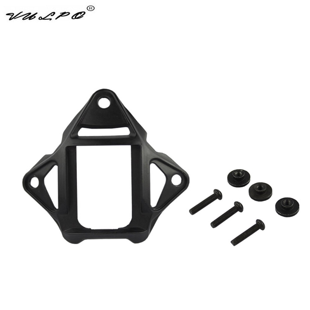 VULPO Tactical Helmet Vas Shroud Three-Hole NVG Mount Adapter Fit FAST MICH ACH Helmet