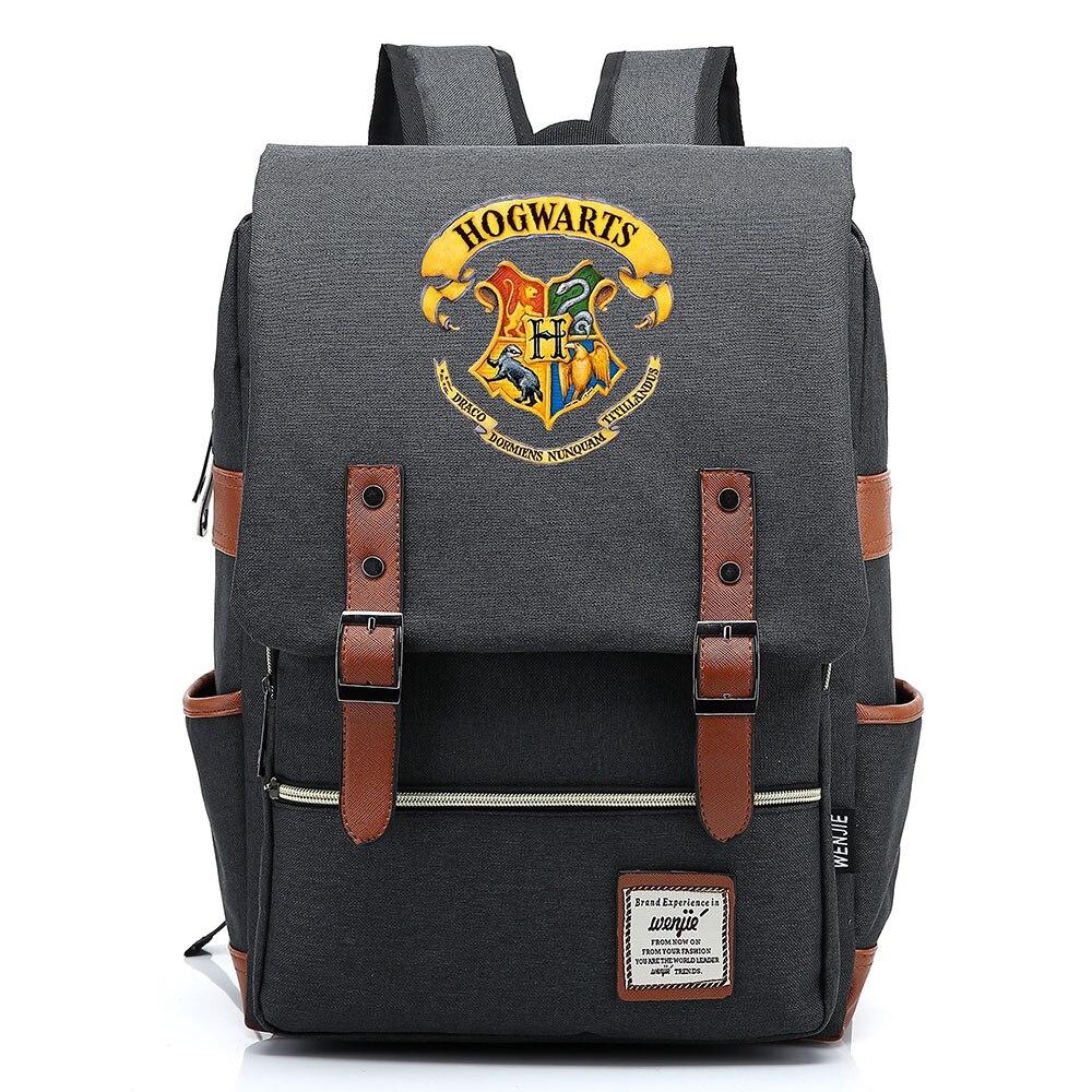 Gift Fashion Magic School Snake Lion Eagle Kids Bookbag Teenagers Student Schoolbags Women Bagpack Men Travel Backpack