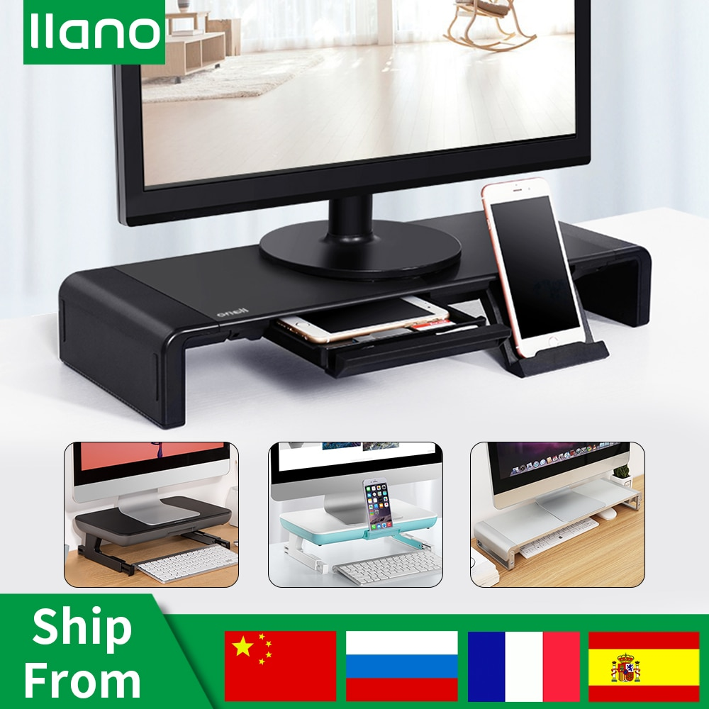 nb fc35 190cm computer sit stand work station desk mount laptop table stand monitor ergonomic desktop with keyboard plate Table Desktop Monitor Stand Riser with Storage Box Phone Holder Computer PC Laptop Stand Desk Support Xiaomi/Macbook Notebook TV