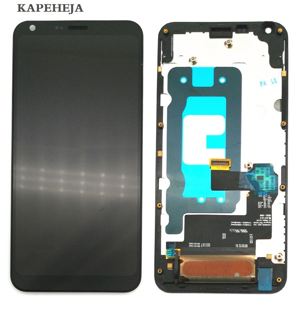 "5,5 ""para LG Q6 M700 M700 M700A US700 M700H M703 M700Y pantalla LCD de montaje de digitalizador con pantalla táctil con marco bisel"