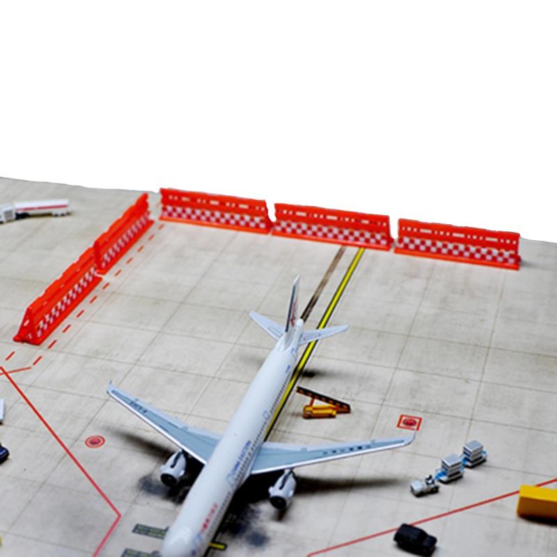 1400 flughafen Anlage Modell Passagier Flugzeug Deflektor Flugzeug Wake Gerät Flugplatz Zubehör Flugplatz Szene Simulation Teile