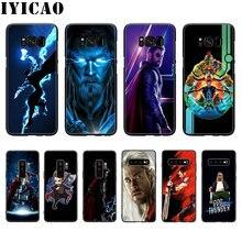 IYICAO Marvel movie thor funda de silicona suave para Samsung S10 S9 S8 Plus S10E S7 S6 Edge funda de teléfono