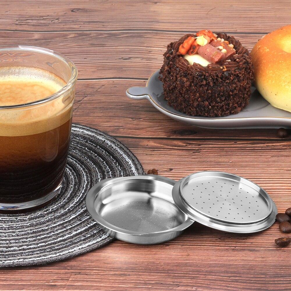 Cápsulas de café reutilizables para Philips Senseo, máquina de café ecológica, rellenable,...
