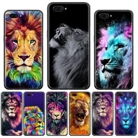 big lion on stone snow phone case for oppo f 1s 7 9 k1 a77 f3 reno f11 a5 a9 2020 a73s r15 realme pro cover funda shell