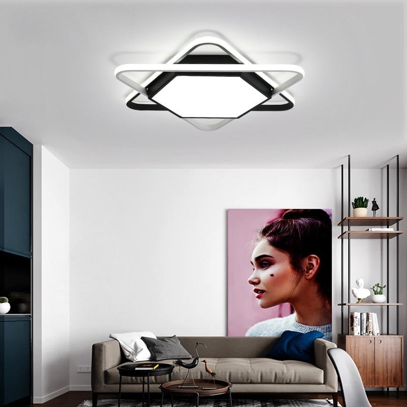 Lámpara led moderna para techo, balcón, porche, restaurante, café, hotel, AC85-265V, accesorios de cocina, iluminación de techo, ventiladores de luz de techo