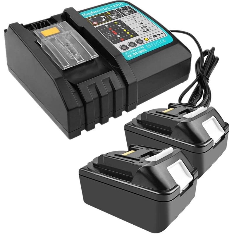 new dc18rct li ion battery charger 3a charging current for makita 14 4v 18v bl1830 bl1430 dc18rc dc18ra power tool DC18RCT Li-ion Battery Charger for Makita Charger 18V 14.4V BL1830 Bl1430 DC18RC DC18RA Power tool 3A Charging Current EU plug