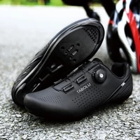 new breathable self locking mtb bicycle shoes men road cycling shoes mountain bike sneakers women ultralight zapatillas ciclismo