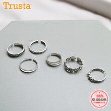 Trustdavis Echt 925 Sterling Silber Mode Knuckle Ring Schwanz Ring Fuß Ring Für Frauen Hochzeit Partei Fine S925 Schmuck DA1947